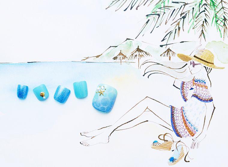 ビーチ フット ネイル リゾート