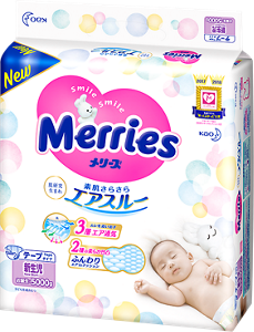 Merries Tape - Exceptional Breathability