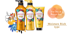 ASIENCE|For Dry & Rough hair|Moisture Rich type