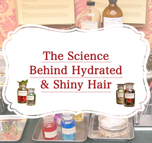The Science Behind Hydrated & Shiny Hair