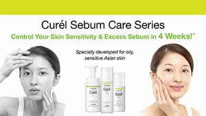 Curél Sebum Care Series