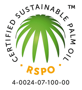 RSPO CERTIFIED SUSTAINABLE PALM OIL 4-0024-07-100-00