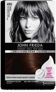 John Frieda Precision Foam Colour Bg Dark Chocolate Brown