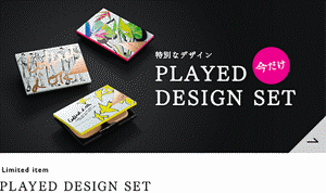 Limited item PLAYED DESIGN SET