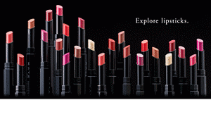 Explore lipsticks. A lip rouge that changes its color nuance when applied in multiple coats. Infinite variations will show you the lips you have never seen.