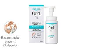 curel face wash