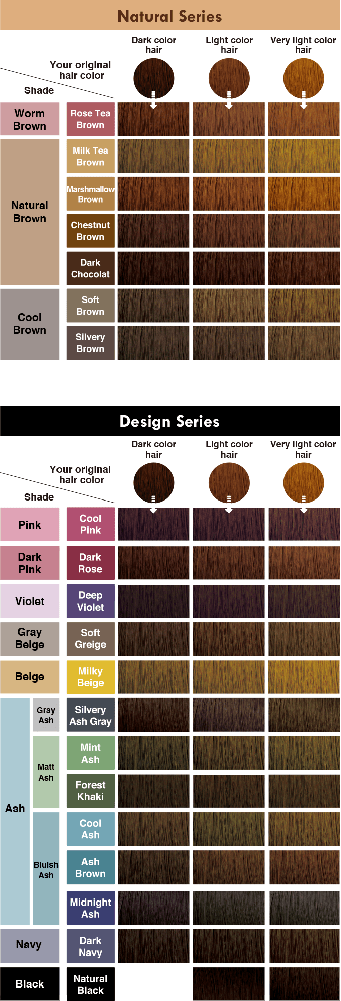 Color Chart Beige