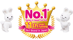 No. 1 Sales in Japan for the 11th year running