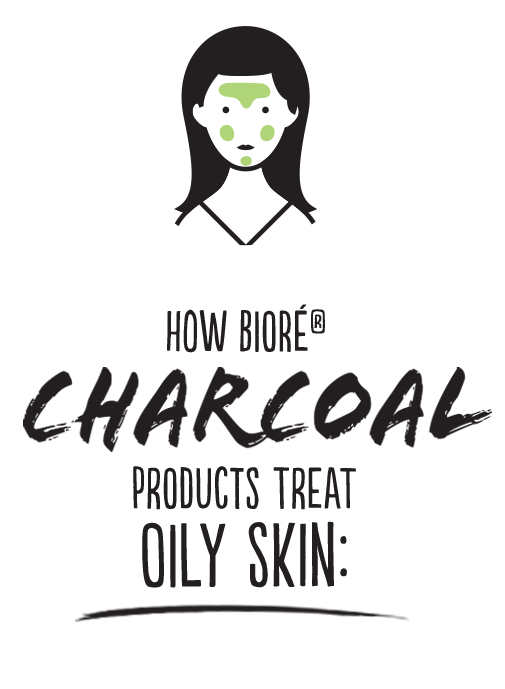 How Biore Charcoal Products Oily Skin
