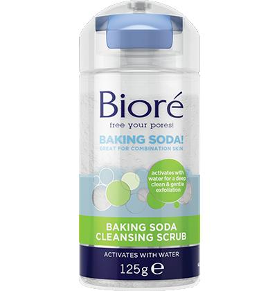 Baking Soda Cleansing Scrub   Bioré