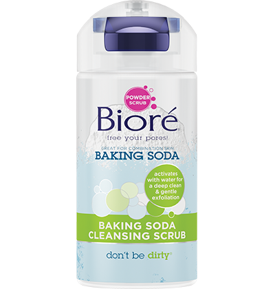 BAKING SODA CLEANSING SCRUB | BIORÉ® SKINCARE