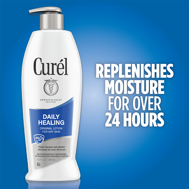 Dry Skin Relief | Curel Daily Healing Original Lotion