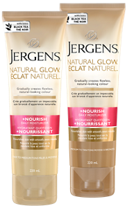 Jergens Nourish Daily Moisturizer Natural Glow Daily Lotion