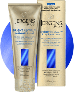 JERGENS<sup>®</sup> Bright Revival Hand Cream