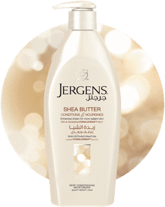 JERGENS<sup>®</sup> Shea Butter Deep Conditioning Moisturizer