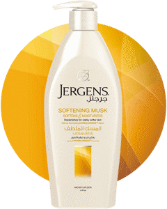 JERGENS<sup>®</sup>  SOFTENING MUSK DRY SKIN MOISTURIZER