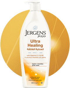 JERGENS<sup>®</sup> Ultra Healing® Extra Dry Skin Moisturizer