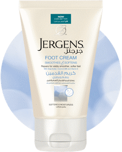 JERGENS<sup>®</sup> Foot Cream Extra Dry Skin Moisturizer