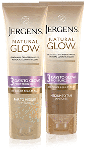 humectante JERGENS<sup>®</sup> Natural Glow Express