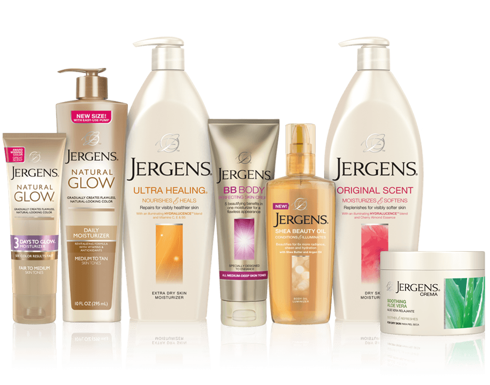 skincare products about jergens products