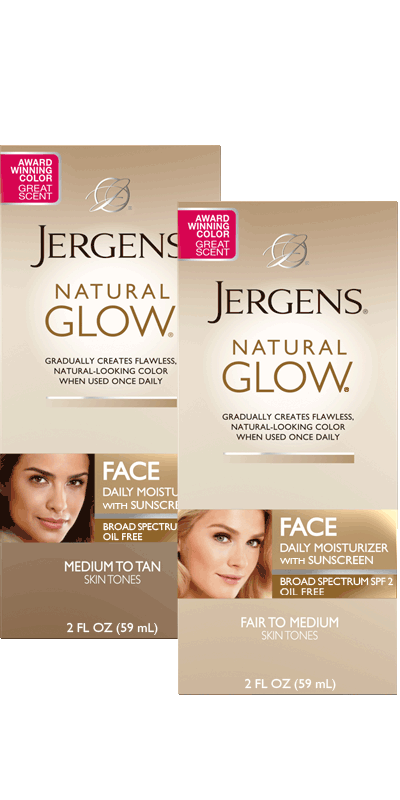 Jergens Natural Glow Face Daily Moisturizer Tips