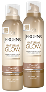 Jergens Natural Glow Foaming Daily Moisturizerr