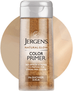 JERGENS natural glow express Color Primer In-Shower Scrubr