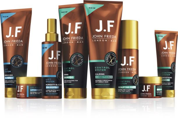 Men S Hair Care And Styling The Jf Man Collection