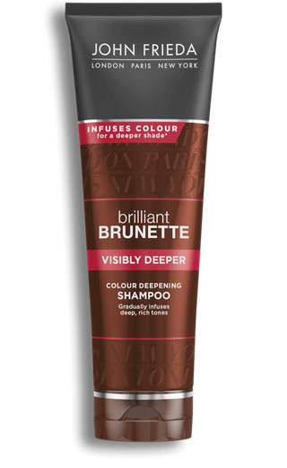 Visibly Deeper Shampoo for Brunettes | John Frieda