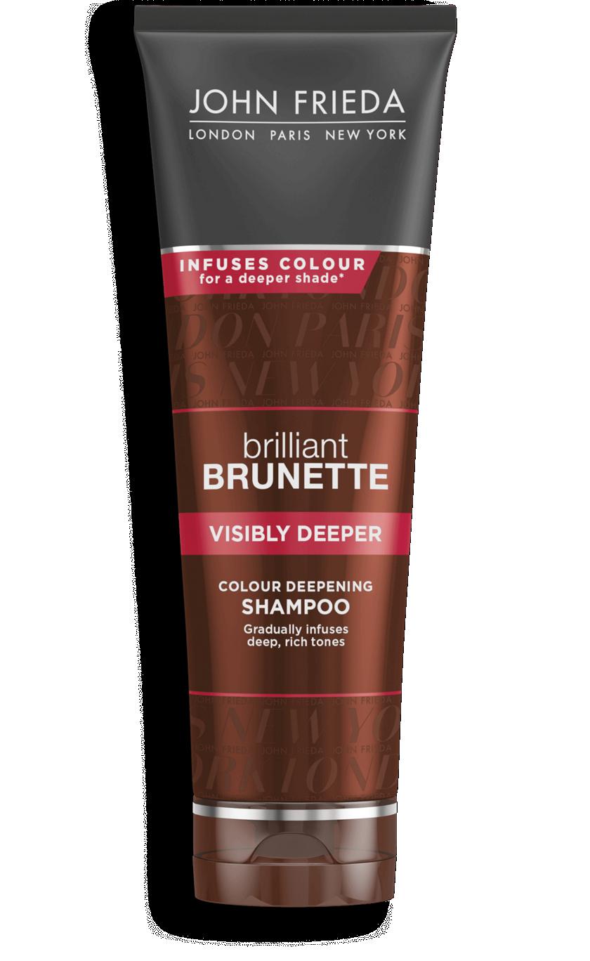 Visibly Deeper Shampoo For Brunettes John Frieda