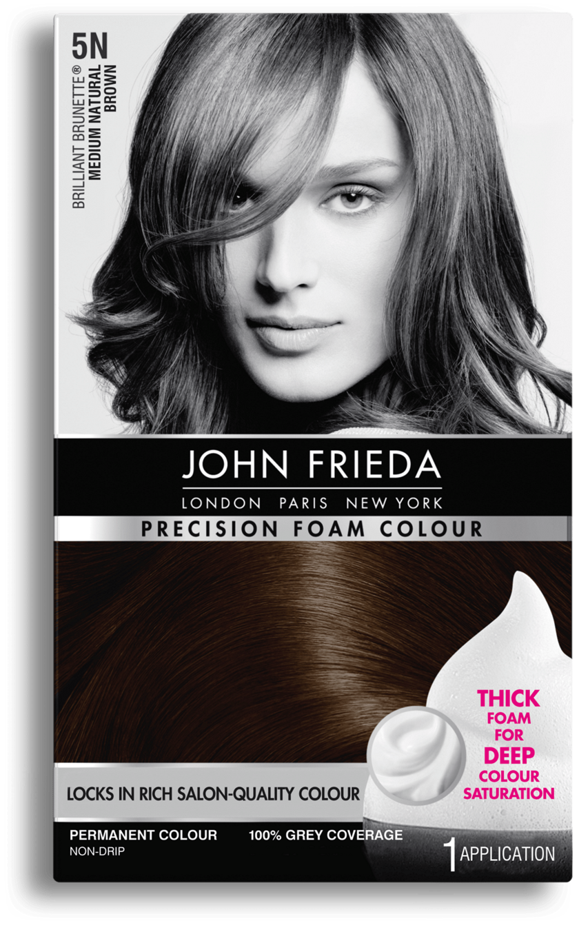 Precision Foam Colour 5n Brilliant Brunette Medium Natural Brown