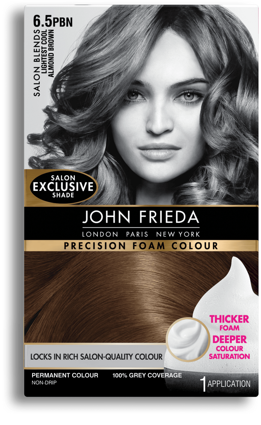 Precision Foam Colour 65pbn Salon Blends Lightest Cool Almond Brown