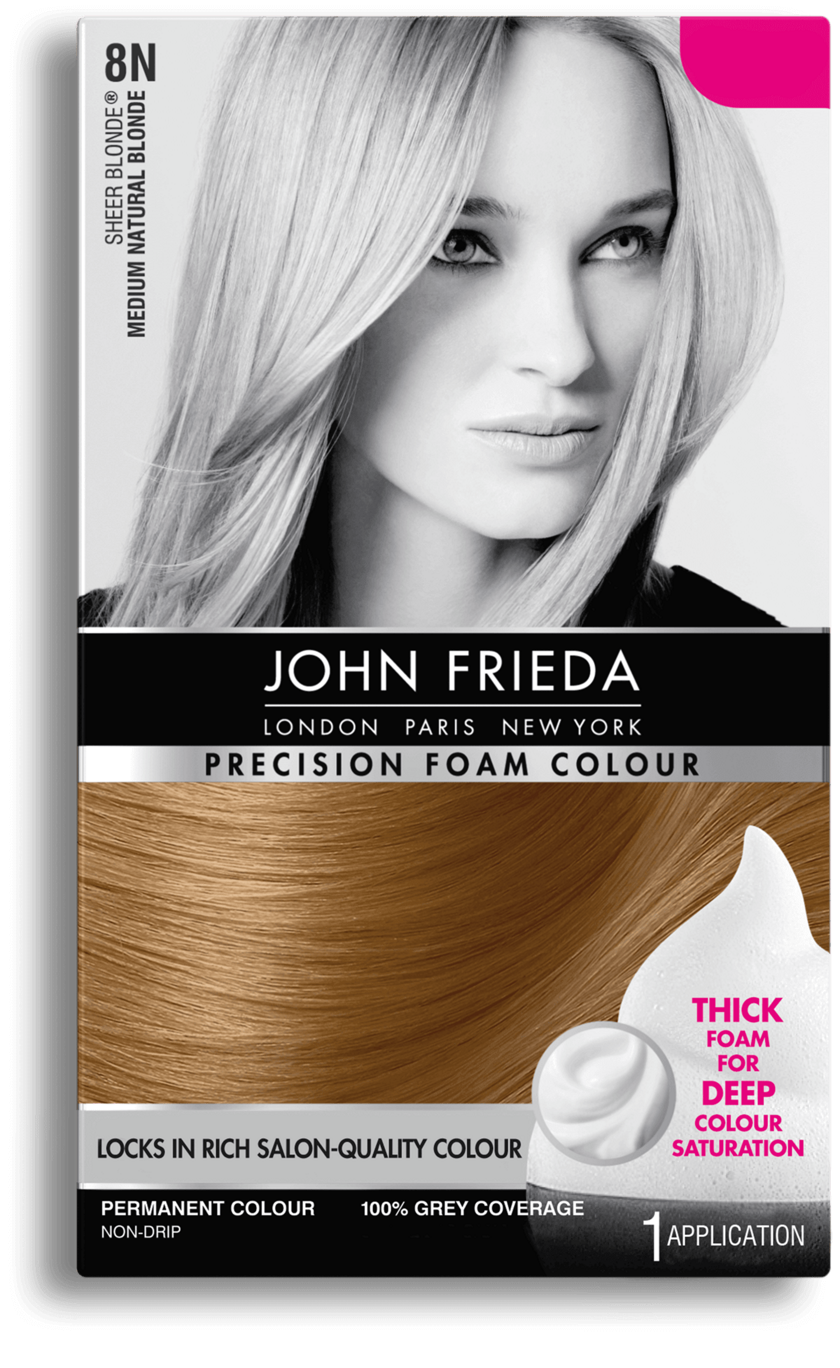 Honey Blonde Hair Color 8n John Frieda