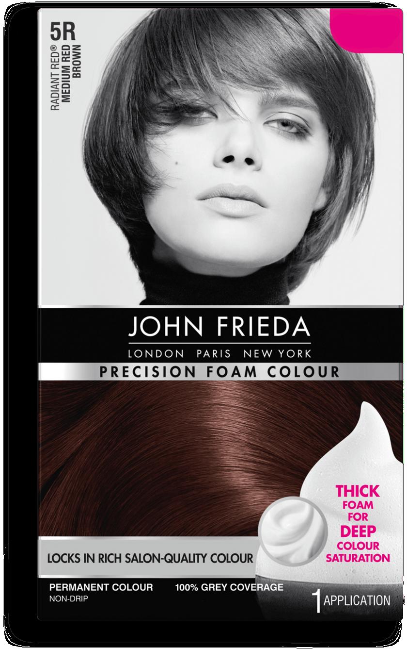 Red Hair Colour 5r John Frieda