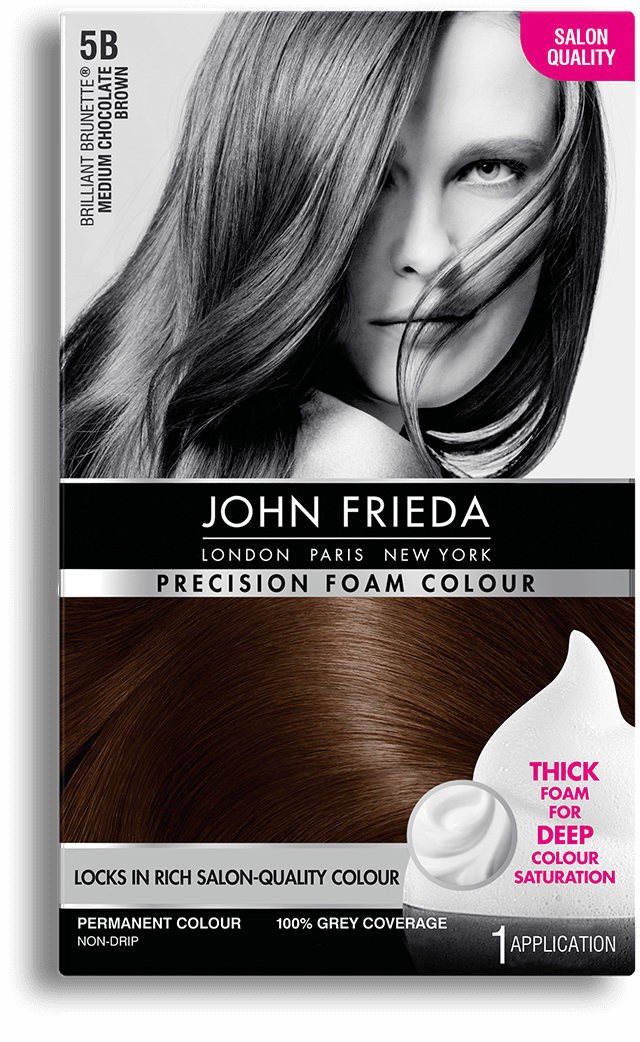 Precision Foam Colour 5b Brilliant Brunette Medium Chocolate Brown