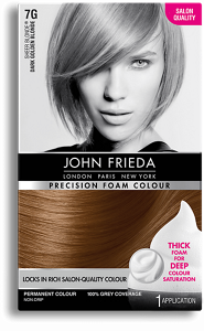 Precision Foam Colour 7g Sheer Blonde Dark Golden Blonde John Frieda