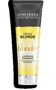 go blonder hair lightening shampoo john frieda. Black Bedroom Furniture Sets. Home Design Ideas