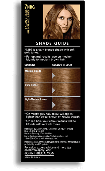 Caramel Hair Colour 7nbg John Frieda