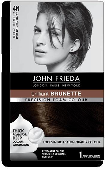 Dark Brown Hair Color 4n John Frieda
