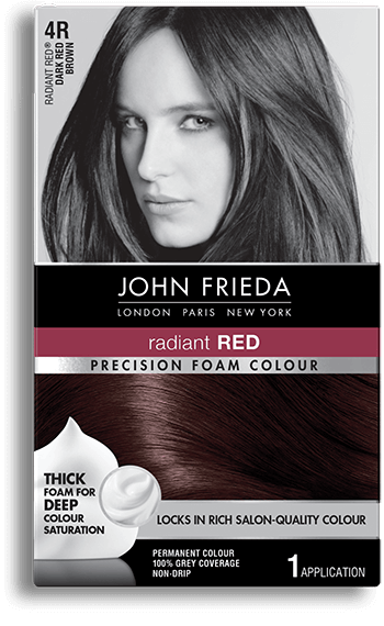Red Brown Hair Color - 4R | John Frieda