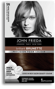 Medium Brown Hair Color 5n John Frieda