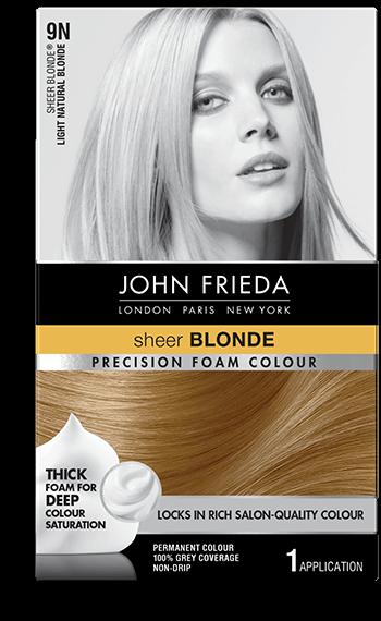 Beige Blonde Hair Color 9n John Frieda