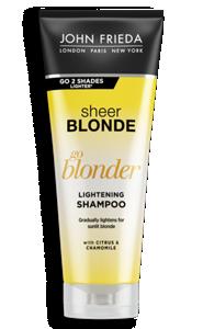 go blonder controlled lightening spray sheer blonde john frieda. Black Bedroom Furniture Sets. Home Design Ideas