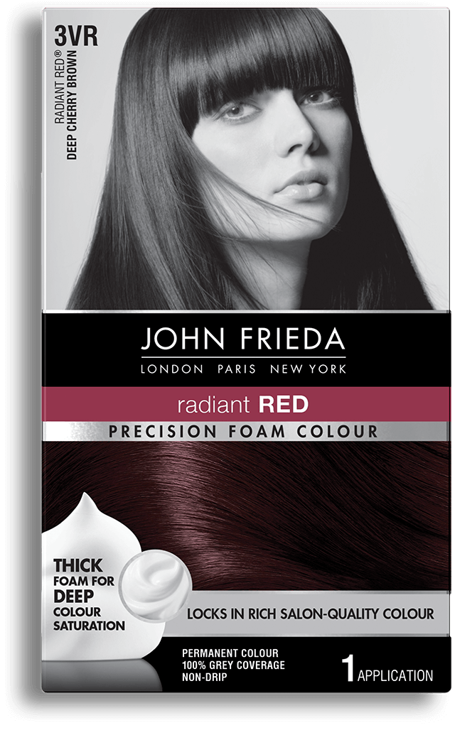 Cherry Brown Hair Color 3vr John Frieda