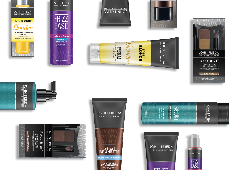 John Frieda Hair Care And Hair Products John Frieda