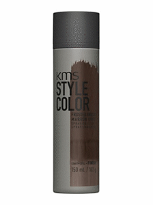 kms style hair color dark brown temporary spray