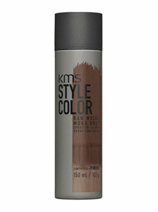 kms style hair color brown mocha temporary spray