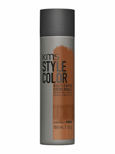 kms style hair color brown copper temporary spray