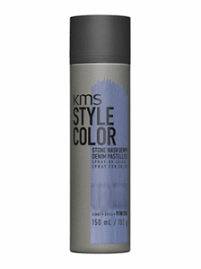 kms style hair color blue temporary spray